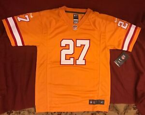 Nike Tampa Bay Buccaneers Bucs Retro Orange Jersey Blount 27 - Youth Size: L NEW