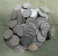 #C22. ONE HUNDRED(100)   1962  AUSTRALIAN  SILVER  SIXPENCE COINS