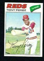 NM 1977 Topps #655 Tony Perez HOF.