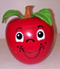 1972 FISHER-PRICE HAPPY APPLE CHIME BALL #435 - SHORT STEM - GREAT CONDITION!