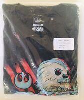 Funko Pop Tees! Star Wars REY and FRIENDS EP8 The Last Jedi XL Shirt New👍