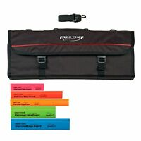 Ergo Chef 13 pocket chef knife case knife roll bag chef bag, with 5 edge Guards