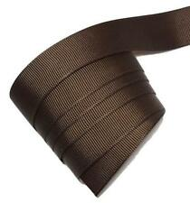"5 yards Brown 7/8"" grosgrain ribbon by the yard DIY hair bows"