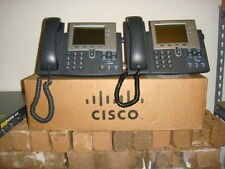 Lot of 2 Cisco CP-7941G Unified VoIP Phones