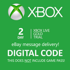 Xbox Live 2 Day Gold Trial Membership Code