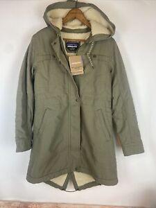 NWT Patagonia Prairie Dawn Insulated Sherpa Hooded Parka Coat Jacket Small $279