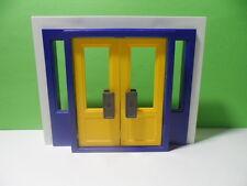 PLAYMOBIL – Grande double porte d'entrée / Modern door / 3159 3165 5718