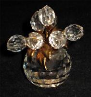 "Swarovski Crystal Tulip Vase, Secrets, 2"" Tall"