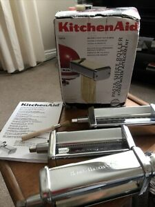 Kitchen Aid 5KPRA Pasta Sheet Roller and Cutter Set Attachment NEW & Boxed