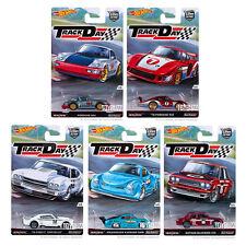 Hot Wheels 2016 Car Culture Track Day D Case Set of 5 Cars DJF77-956D