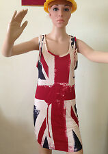 eleven paris women dress tunique british flag small life is a joke elevenparis