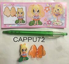 PAM+ CARTINA POP PIXIE 1  -2011  DC170 Kinder sorpresa 2011/2012
