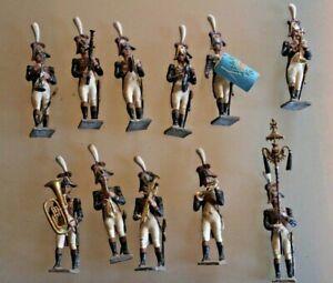 Soldier Old Lead Bundle 11 Grenadier Music 1° Empire Cbg