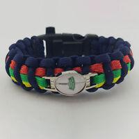 Royal Marine (RMC) Commando Dagger Badged Survival Bracelet Edge Wristband