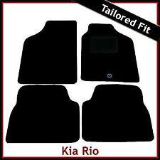 KIA Rio (2001 2002 2003 2004 2005) Esteras de Coche Alfombra ajustada a la medida