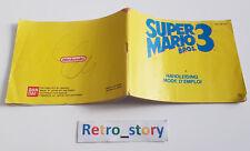 Nintendo NES - Super Mario Bros 3 - Notice / Instruction Manual