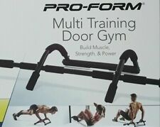 ProForm Multi-Training Door Gym Pull-Up Bar - Black