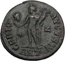 LICINIUS I Constantine I the Great enemy Roman Coin Genius w Sol  head  i56066
