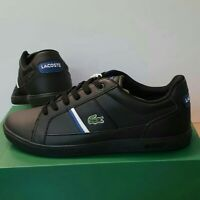 LACOSTE Men's Europa Leather Trainers UK Size 6.5 - 11 RRP £95 B GRADE