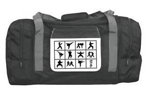 Sporttasche mit Karate Motiven