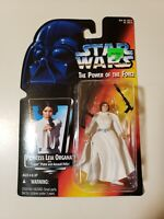 VTG 1995 Kenner Action Figure Star Wars The Power Of The Force Princess Leia MIB