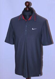 ATP Tour 2007 Nike Court tennis polo shirt Size M Federer style
