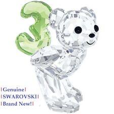 Swarovski Kris Bear NUMBER # 3 (Three) Colour Crystal Figurine 5108725 NEW!