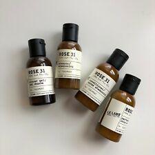 BRAND NEW Le Labo Rose 31 travel set - shampoo, conditioner, shower gel, lotion