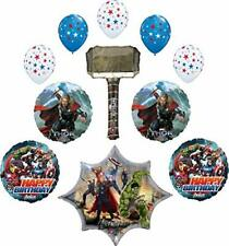 Avengers Thor Party Supplies Birthday Balloon Bouquet Decoration