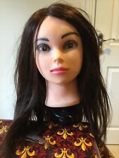 Hairdressing Training Head With Clamp - Hair Styling Doll