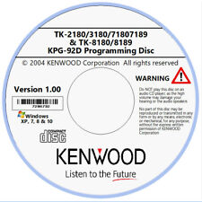 Kenwood KPG92D Software for TK-2180/3180/7180/7185/7189/8180/8189 Radios