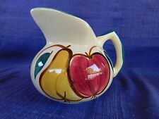 Purinton Fruit SYRUP PITCHER Small have more items to this set  PEAR & APPLE
