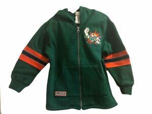 NWT Disney Store Toy Story Buzz Lightyear Zip Sweatshirt Coat Green Size S Small