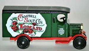 Campbell Soup Co's Tomato 100th Anniversary Die Cast Model Truck Souvenir 1997