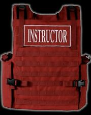 Firearms Instructor Armor Carrier Vest