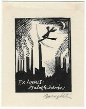 ISTVAN BALOGH: Eigen-Exlibris