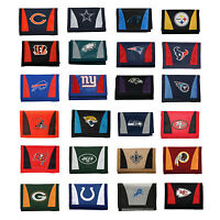 Brand New NFL 32 Teams Available Pick Your Team Chamber Tri-Fold Trifold Wallet