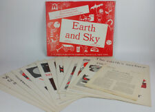 VTG 1960's Poster Set 12 Instructor Primary Science Concept Charts Earth and Sky