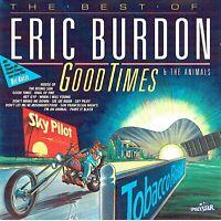 (CD) Eric Burdon & The Animals - The Best Of - Good Times - Sky Pilot, Hey Gip