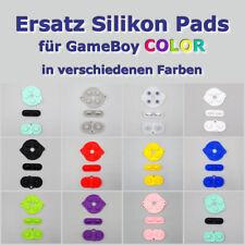Ersatz Silikon Pads für Nintendo GameBoy Color - Button Start Select Knöpfe GBC