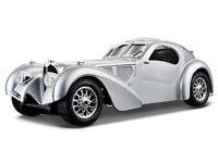 BUGATTI ATLANTIC 1936 1:24 Scale Metal Diecast Car Model Die Cast Cars Models