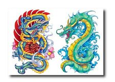 Dragon Temporary Tattoos (Apalala) - Perfect for dress ups / costume parties!