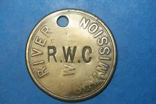 More details for sunderland river commission pass token c/m rwc & transferred durham (ref 140)