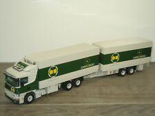 Scania 124L 400 Truck & Trailer Cargobos - Tekno 1:50 *41383