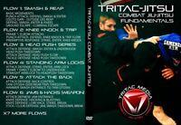 Combat Jiu-Jitsu Fundamentals DVD Martial Arts MMA BJJ Jujitsu Wrestling