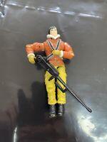 Vintage GI Joe Action Figure 2004 Tracker Kwinn And Long Gun