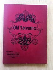 MUSIC BOOK Old Favourites, From Family Herald & Weekly Star 1898 Montreal Canada