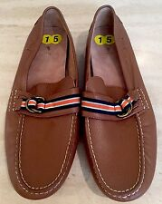 NEW Polo Ralph Lauren Mens Brown Slip On Loafer Sz 15 D