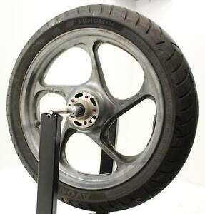 2001 Kawasaki Concours 1000 Zg1000a Front Wheel Rim W Tire 41073-1545-ge