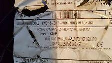 Liberty Wire/LWC 18-CMP RG6 HDTV SDI Serial Digital Coaxial Cable Plenum Bk/40ft